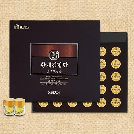 농협 한삼인] 황제침향단 3.75g X 30환 (쇼핑백포함)